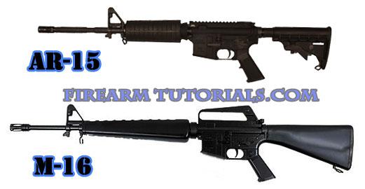 AR-15 vs M16